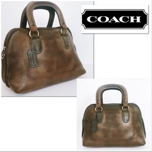 "Coach Vintage Leather Baxter ""Speedy"" Doctor Bag"